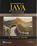 Introduction to Java Programming and Data Structures, Comprehensive Version (12th Edition)